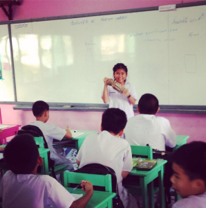 Students at Anuban Ranong